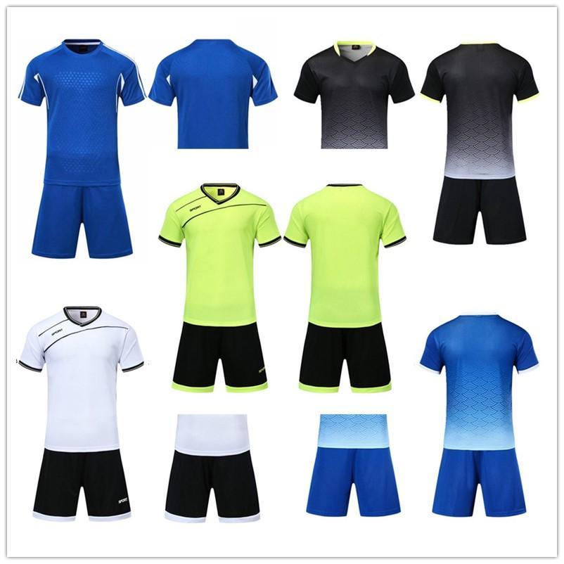 2021 Jersey de football Ensembles lisses Royal Blue Football Sweat absorbant et respirant Ensuite d'entraînement pour enfants 001 43916