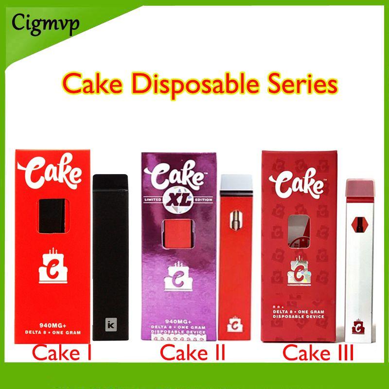 Cake Dispositivi monouso E Sigarette Delta 8 D8-1 One Gram Vuoto Pod Ricaricabile per olio spesso aggiornato Verivision 2 e 3 sono disponibili