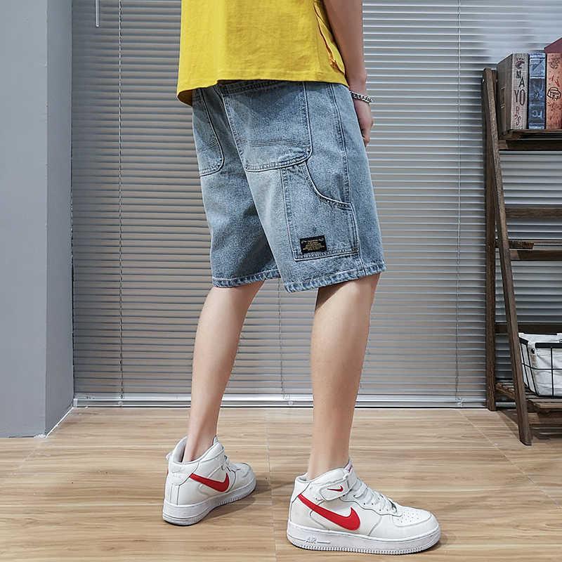 Корейская версия Тенденция диких молодежных джинсов на пять точек лето Новый Большой Размер Инструмент Шорты Высокого Качества Мужская одежда QuadyQ7xoirwh2g6exkse