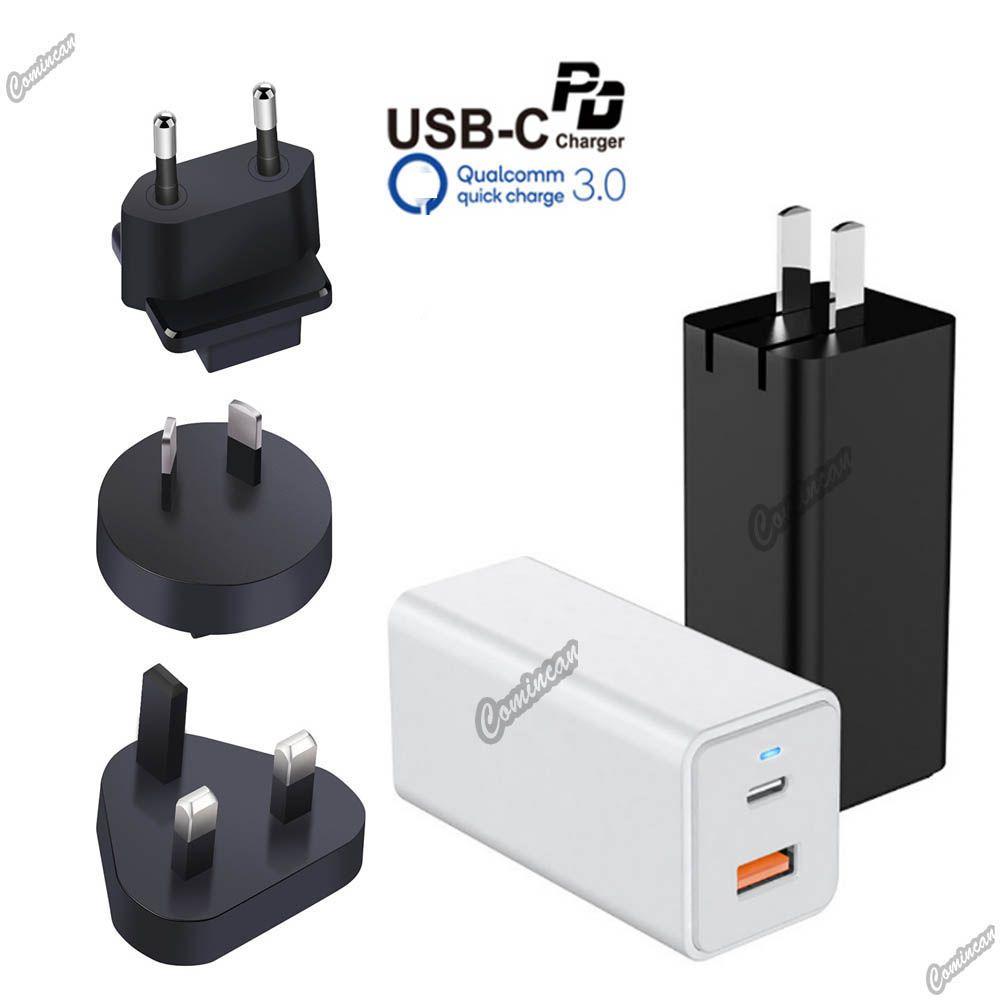 65W USB C PD 어댑터 GAN PPS 65W 아이폰 Xiaomi 노트북을위한 충전 C 충전기