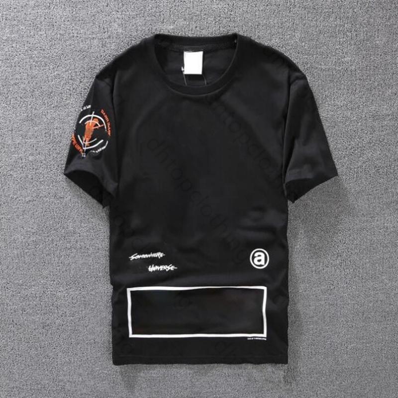 Designer-Männer T-shirts Casual T-Shirt Lose Kurzarm Cartoon-Druck T-Shirts