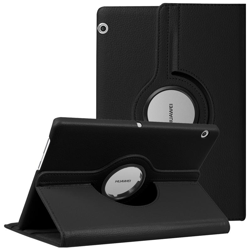 MediaPad T5 10 T3 9.6 M5 Lite 10.1 8.0 360 Dönen Standı Kapak Huawei Matepad Pro 10.8 10.4 T8 Durumda