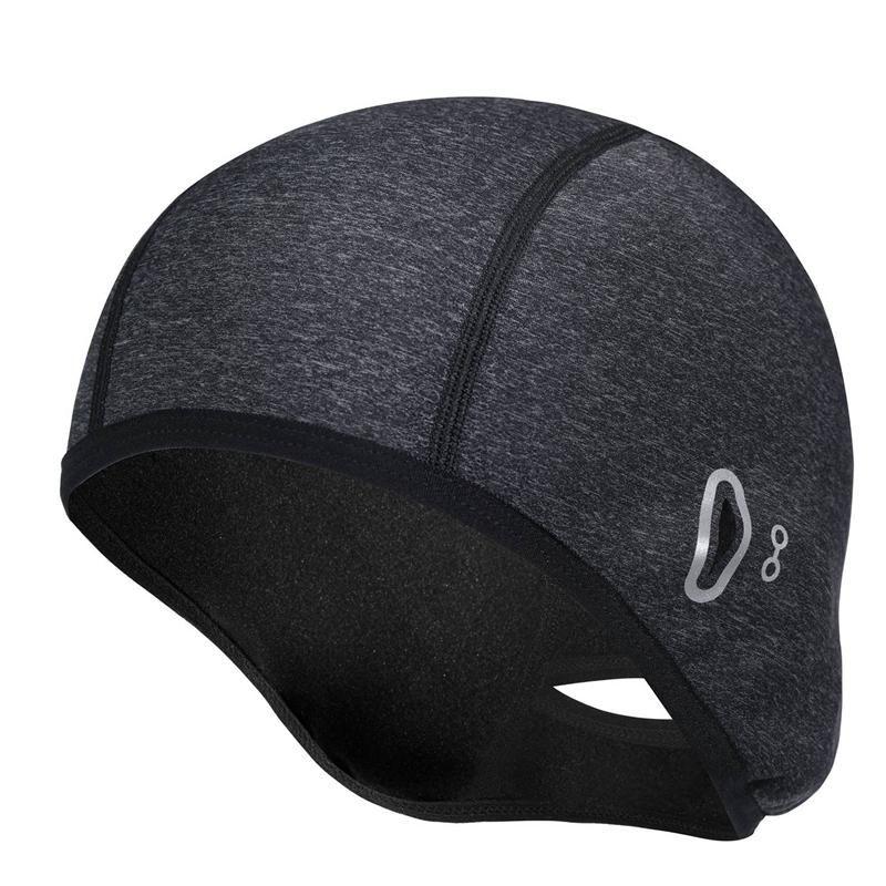 Capas de bicicleta Windproof Winter Bike Bike Chapéus Capacete com Óculos Buraco para Mulheres Ciclismo Running Skiing Máscaras