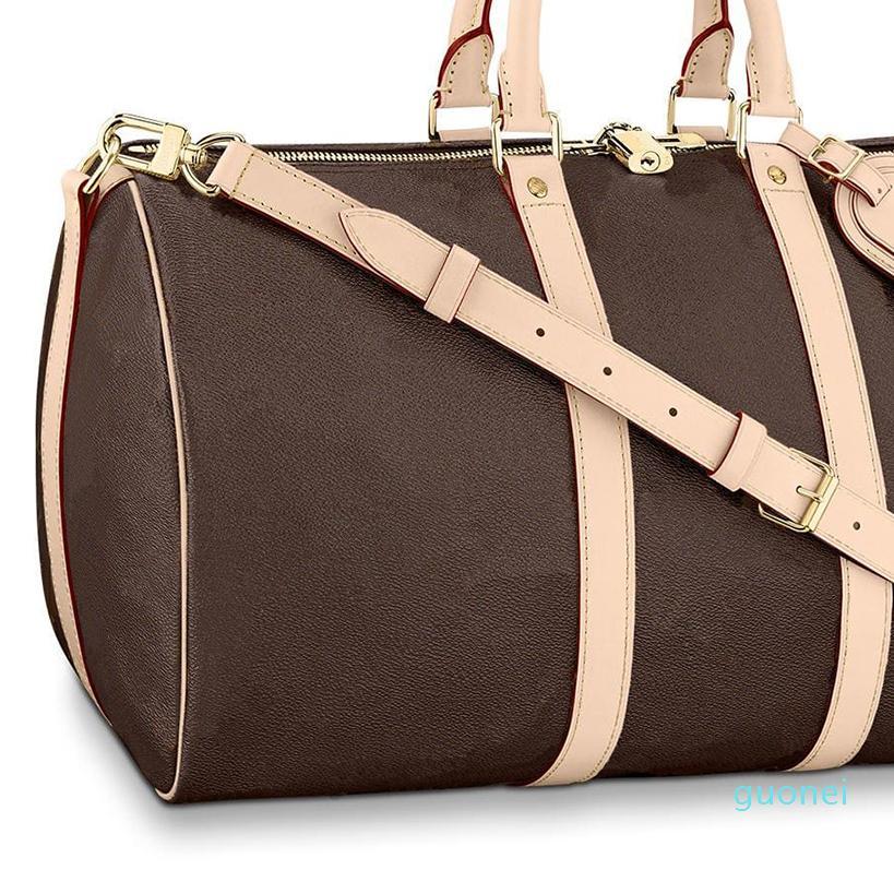 Duffle Bag Bagagem Bolsas Bolsas de Ombro Bolsa Mochila Mulheres Bolsas De Lona Homens Bolsas Bolsas Bags Mens De Couro Embreagem Carteira Saco 56 2021