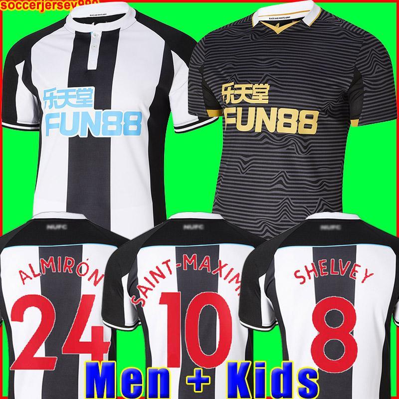 Futbol Forması 21 22 Ev sahibi SHELVEY ALMIRON 2021 2022 JOELINTON Futbol Forması RITCHIE GAYLE MAXIMIN Erkek + Çocuk forması setleri üstleri