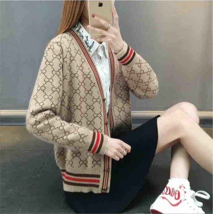Mulheres Designers Roupas 2020 Mulheres Suavers de Alta Qualidade Marca Designer Sweater Feminino com o mesmo Outono Winter Womens Bluseers