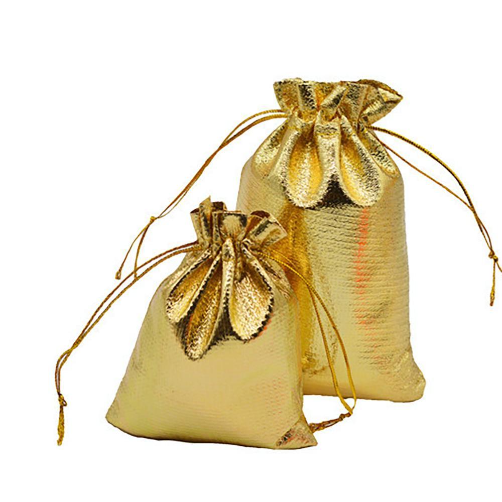 2022 Weihnachtsdekorationen Beutel, Verpackung Display Schmuck100 Sehr überzogene Gaze Schmuck 7x9 cm 9x12 cm 11x16 cm / 13x18cmjewelry Geschenkbeutel Taschen