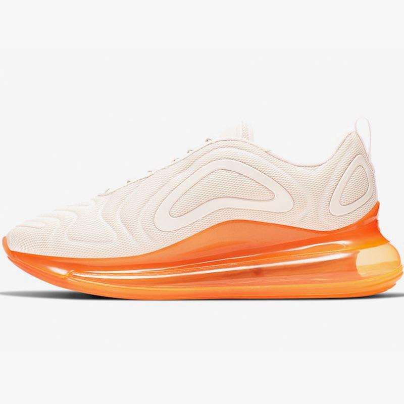أحذية البرتقال الجري فاهيون الوردي بارد رمادي شبكة 72C الذهب الأسود ولدت أن تكون حقيقية البحر الهواء غابة الغروب الشمس الشمسي مصمم المدربين أحذية رياضية