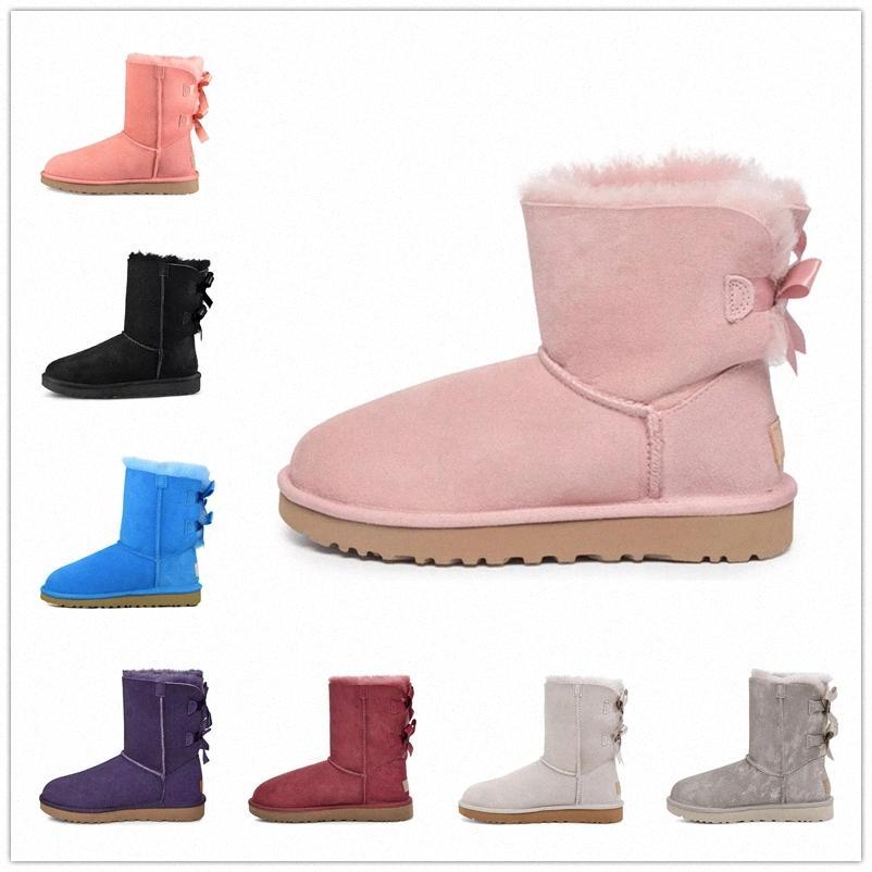 2021 nova chegada mulheres botas de neve moda inverno bota clássico mini tornozelo curto senhoras meninas as botas femininas cinza castanha marinha azul m6rg #