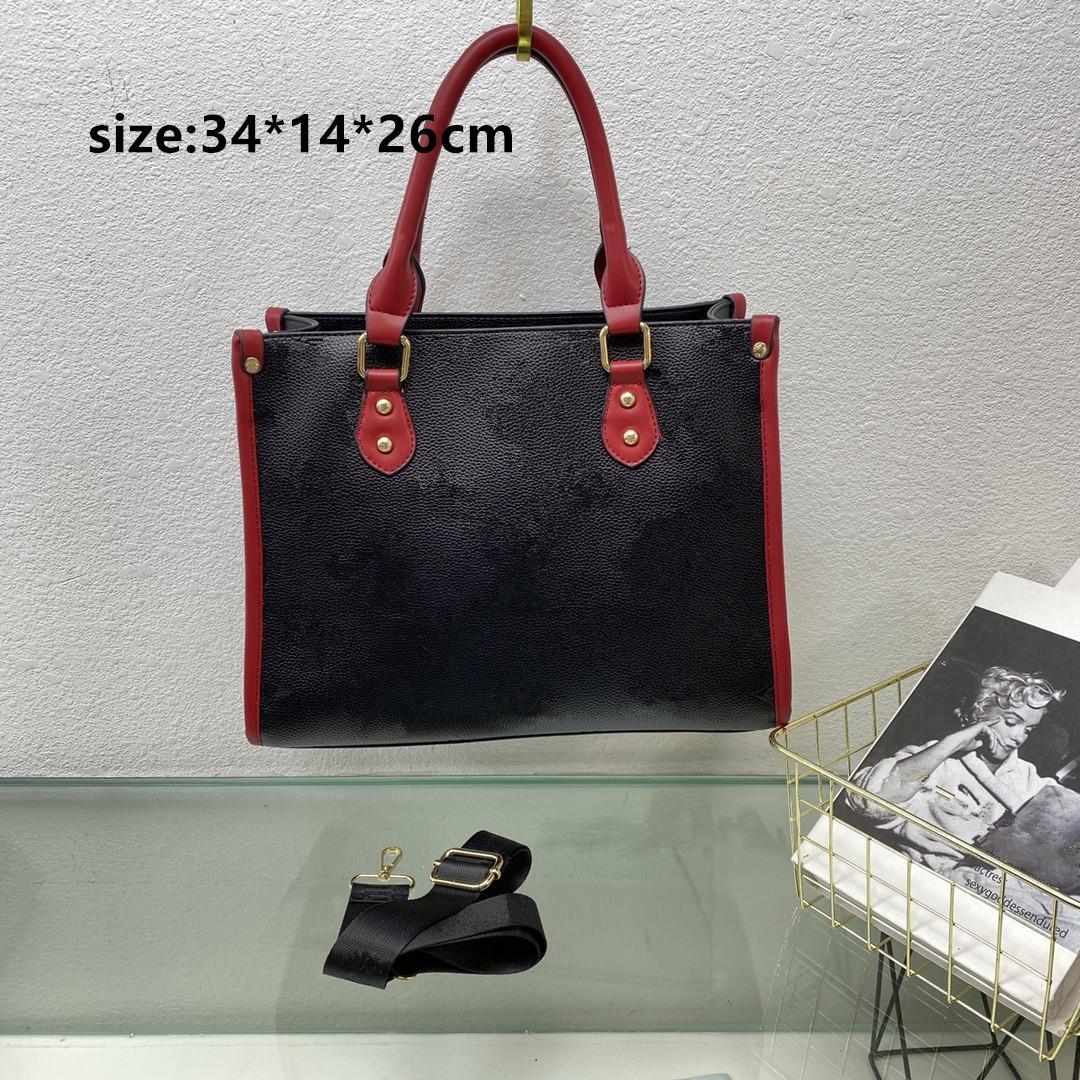 Mulheres luxurys designers bolsas de ombro bolsas saco de avermory saco europeu e americano primavera verão moda marrom branco preto cereja cor