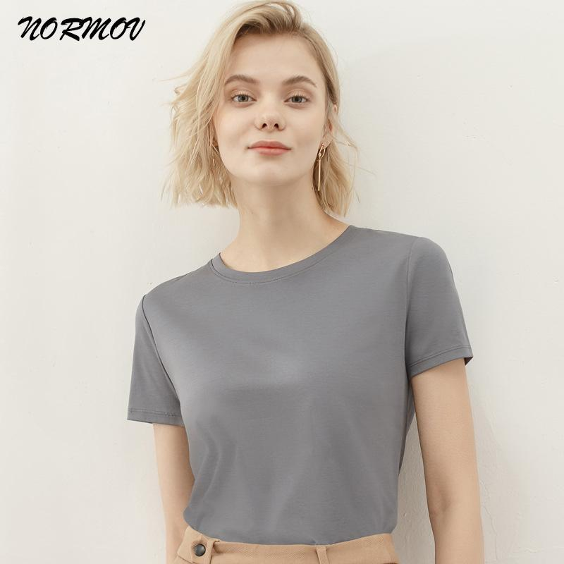Camiseta Mulheres Inglaterra Estilo Simples Sólido O-Pescoço Correspondência Básico Harajuku Camisetas Camisetas Verano Mujer 2021 T-shirt das Mulheres
