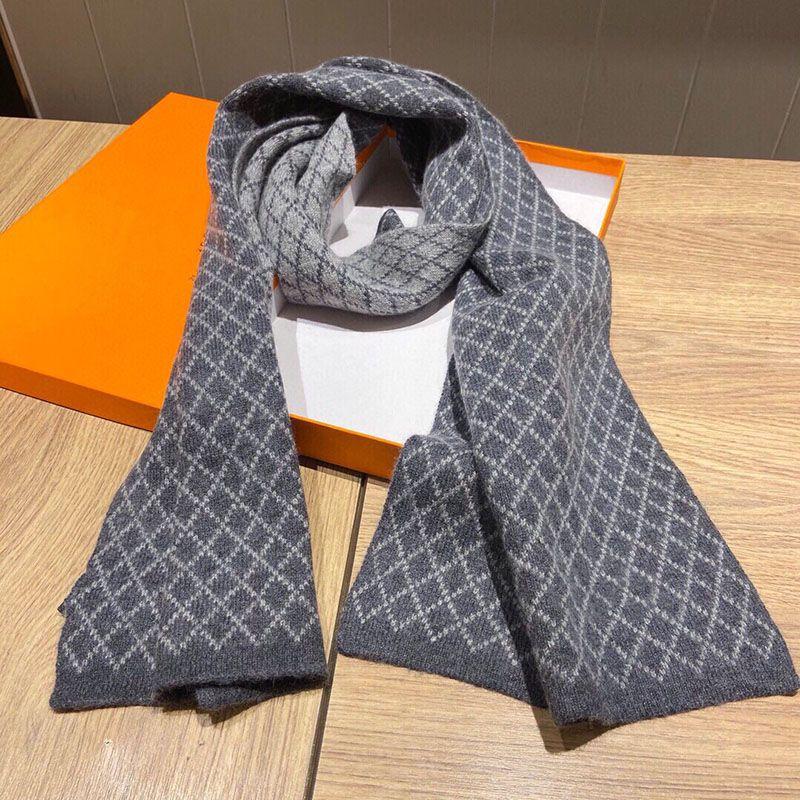 Sciarpa per Designer Designer Lana lunga sciarpe per uomo taglia 180 * 30 cm moda inverno cavallo sciarpa donna sciarpa
