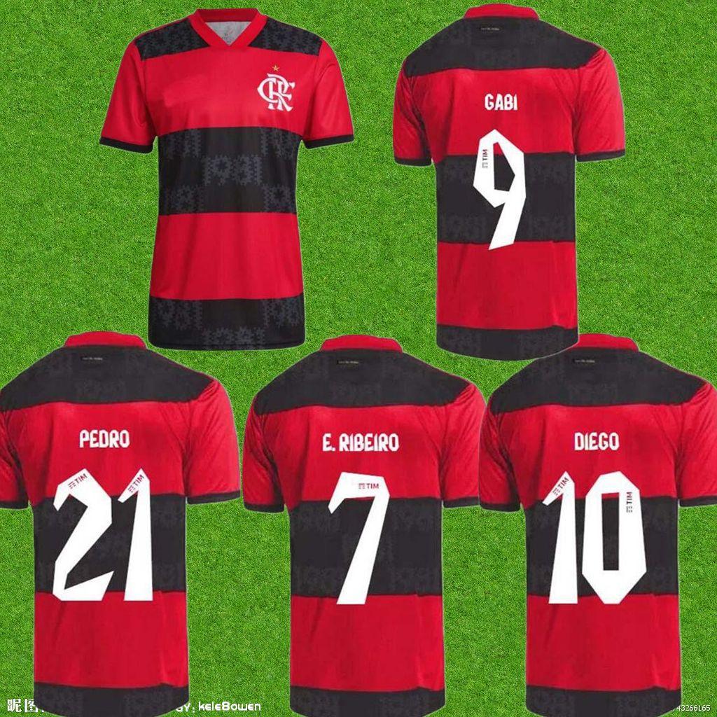 2022 CR Flamengo Soccer Jerseys Flemish 2122 ArscaTa B.Henrique Gabriel B. Diego Camisa de FuteBol Camisas de Futebol Flamenco