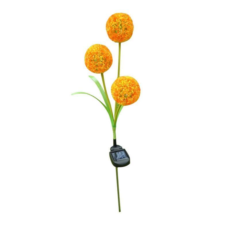 Çim Lambaları Güzel Yapay Çiçek Lambası Güneş Enerjisi Simülasyon Işık Bahçe Çözümlü Yard Su Geçirmez Peyzaj