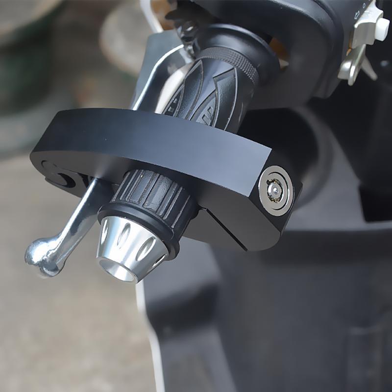 Protección contra robo TIODE MOTORCOCLE GARA DE FRENO DE FRENO Bloqueo Anti-Robo Aleación de aluminio Seguridad para Scooters, Bicicletas E, Motocicletas