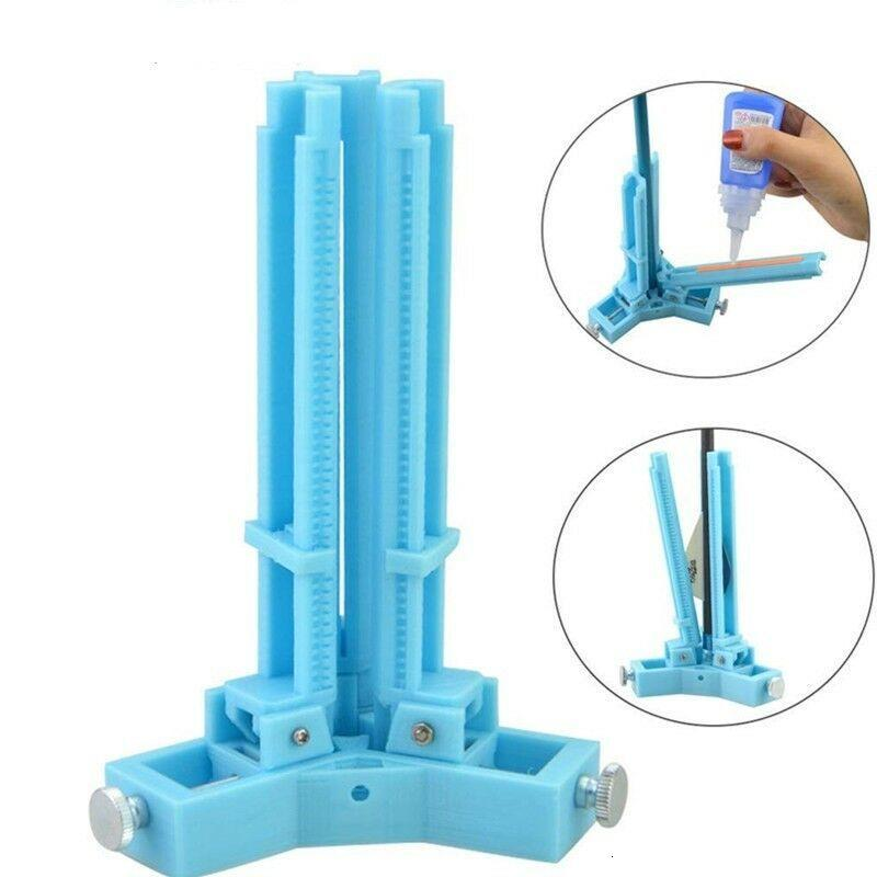 Linkboy الرماية أدوات قابل للتعديل البلاستيك 3 الريش عصا الترابط فلشينج جيج فينيس عصا المطاط ل اكسسوارات الصيد القوس
