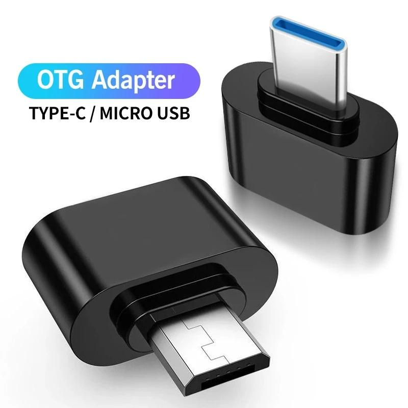 Micro 5pin Type c USB-C To USB OTG Adapter Cable Converter for Android Phone Card Reader Flash Drive