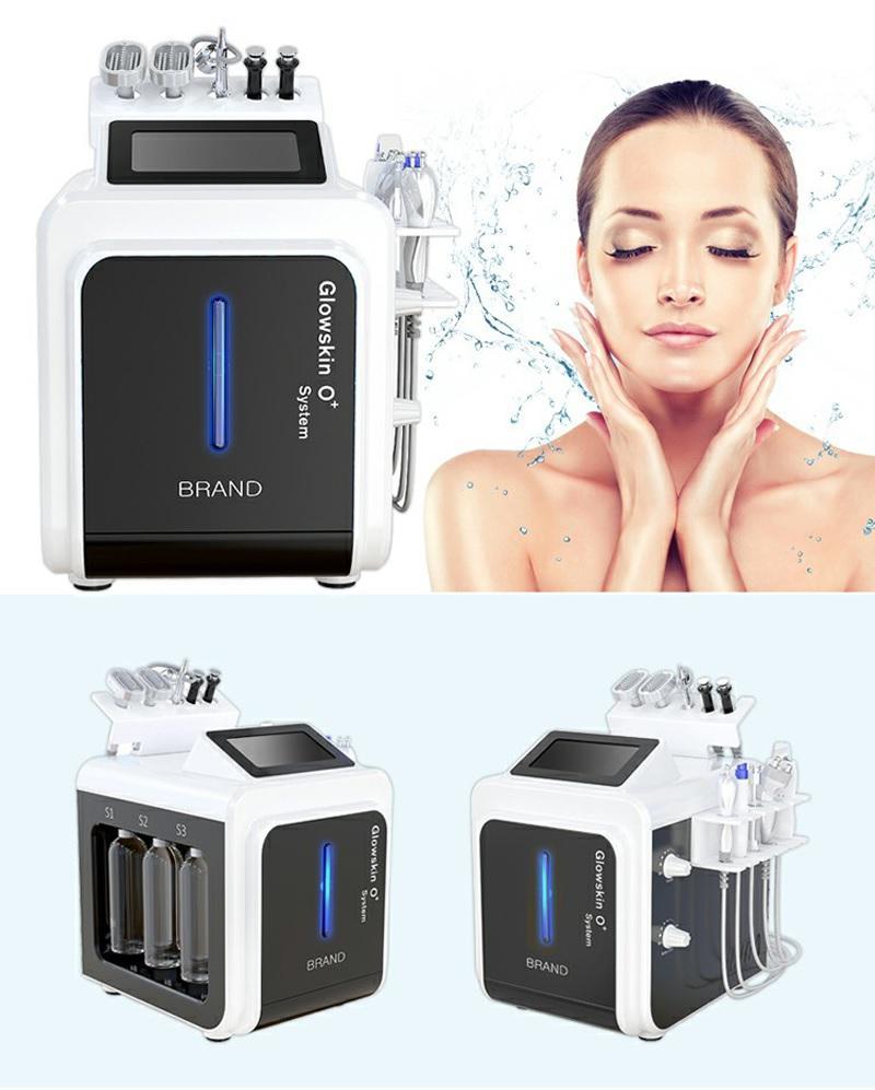 Face Care Water Microdermabrasion Akne Behandlungsmaschine Salon Verwendung