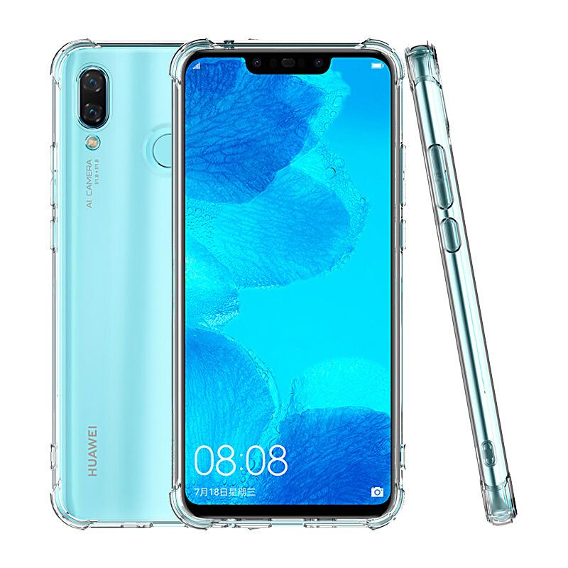 10pcs Air Cushion TPU Crystal Case Silicone Clear Corner Shockproof Cover For Huawei P40 Pro + P30 Lite Mate 40 30 Nova 8 SE