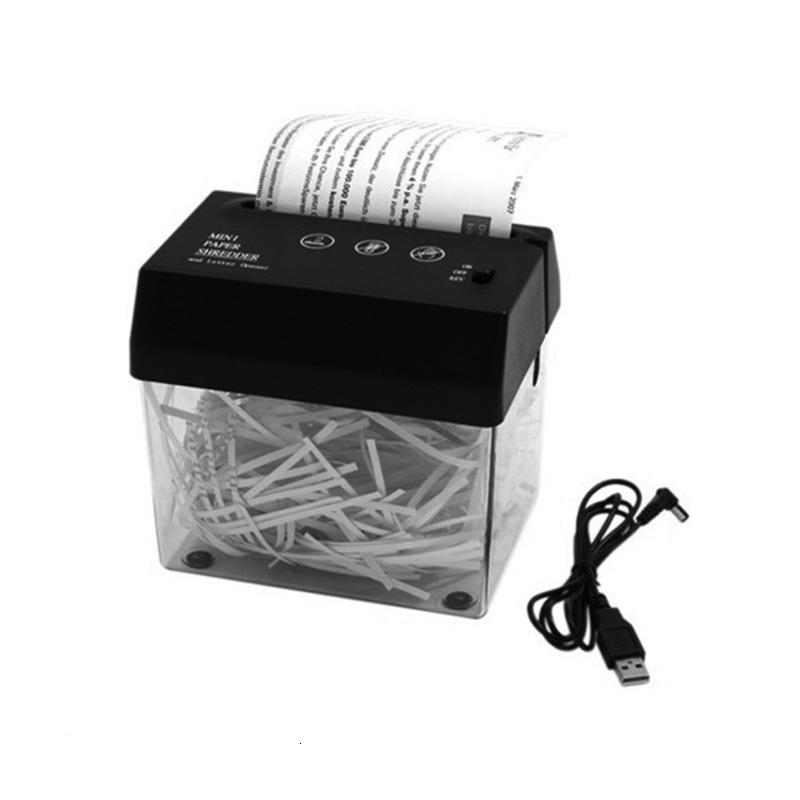 Credit and Micro-cut Paper Card Shredder with Auto Reverse