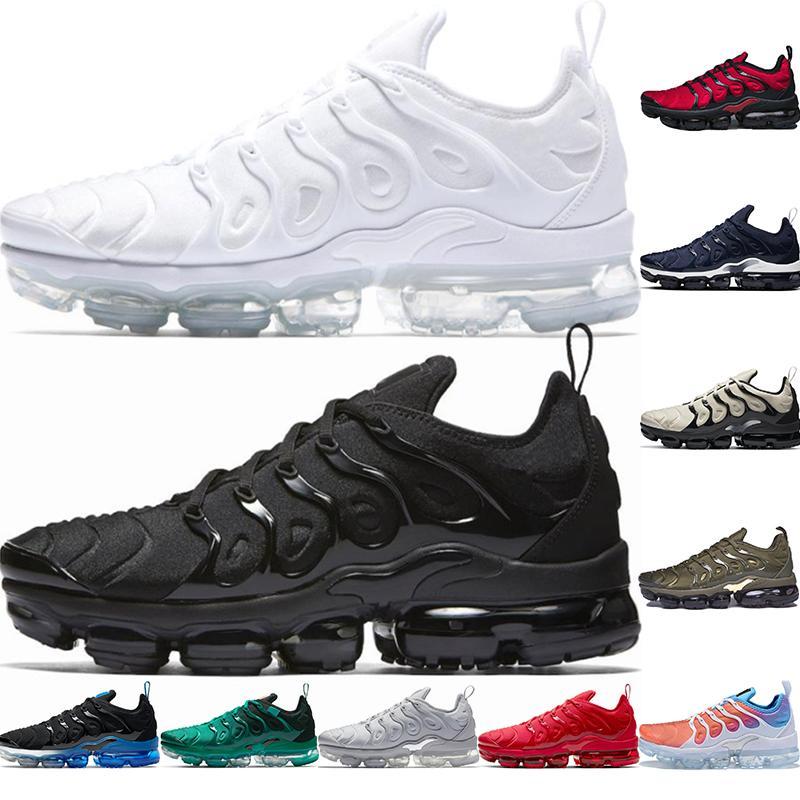 TN Plus Nlke Vopars الاحذية Size 13 Vapourma TNS Men Women Atlanta Black Royal Maxs Trainers Sneakers 36-47
