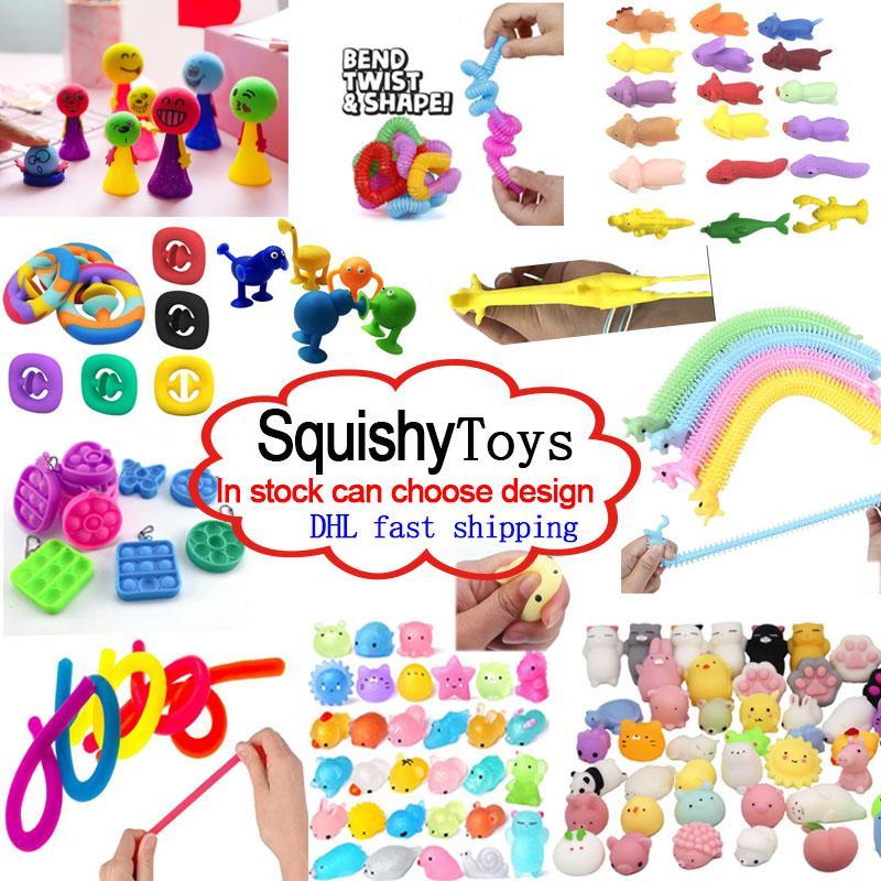 2021 재미 있은 짜기 장난감 조합 압축 해제 장난감 압입 솔직히 솔직한 아이들 아마존 판매 감속기 다양한 스타일 도매