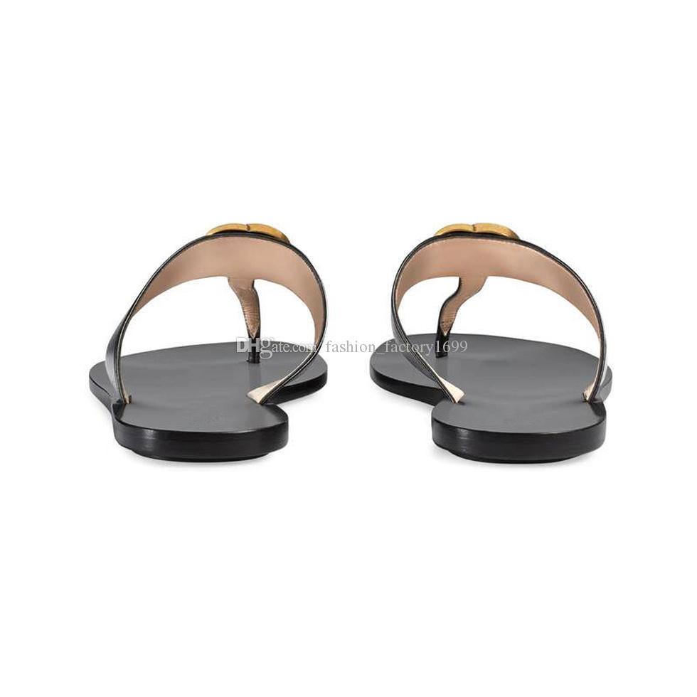 2021 Designer Donne Pantofole da uomo Slipper Gear Bottoms Flip flops Donne Sandali di lusso Moda Causal Flop Dimensione 35-45 con scatola