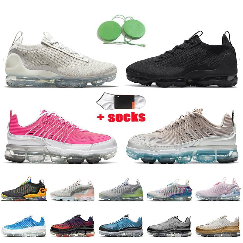 Nike Air Vapormax 360 Nike Vapormax 2021 mujeres de alta calidad para hombre zapatos de correr aireVaporAirmax Metallic Gold Black Iridcent Nik Mens Trainers Sneakers