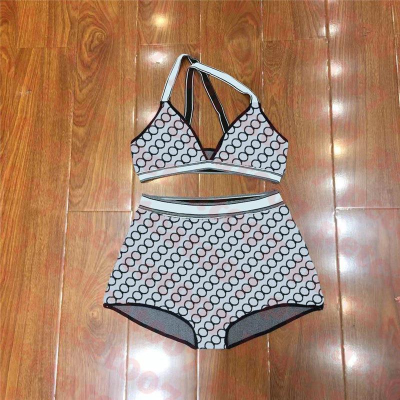 أزياء المرأة ملابس السباحة بيكيني المنسوجات الراقية النساء الاستحمام دعوى إلكتروني مطبوعة السيدات ملابس السباحة ثلاثة ألوان