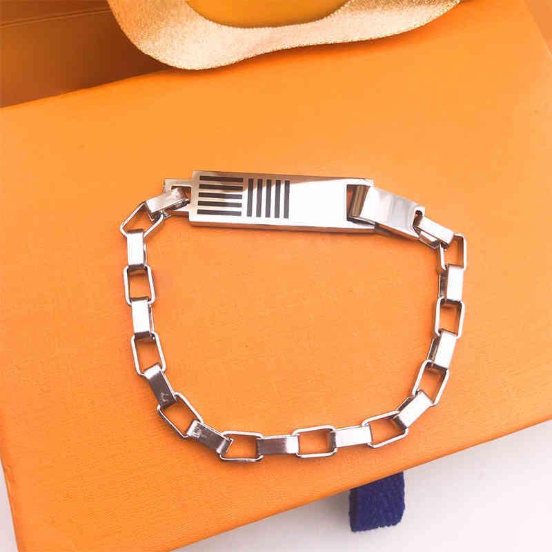 High Quality Stainless Steel Bamboo Bracelet necklace Silver Designer Men Women Gold Bracelets Personality Hip-hop Love