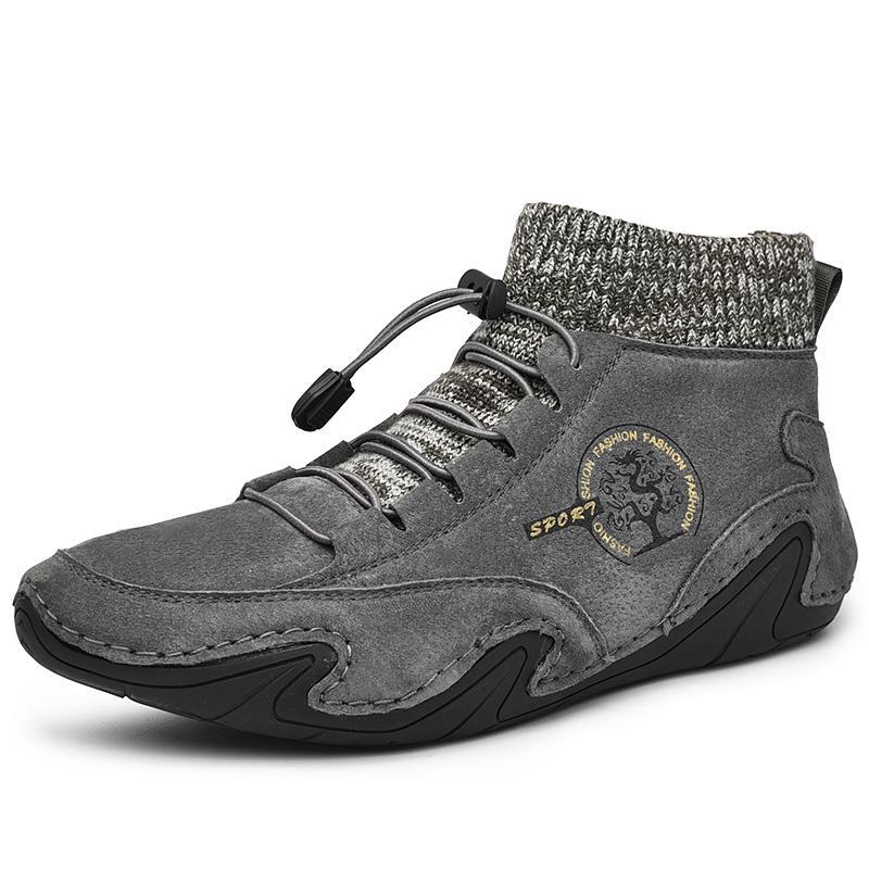 Men Boots ArrivalAnkle Non-slip Large Size Suese Shoes for Male Fashion Trend Men's Leather