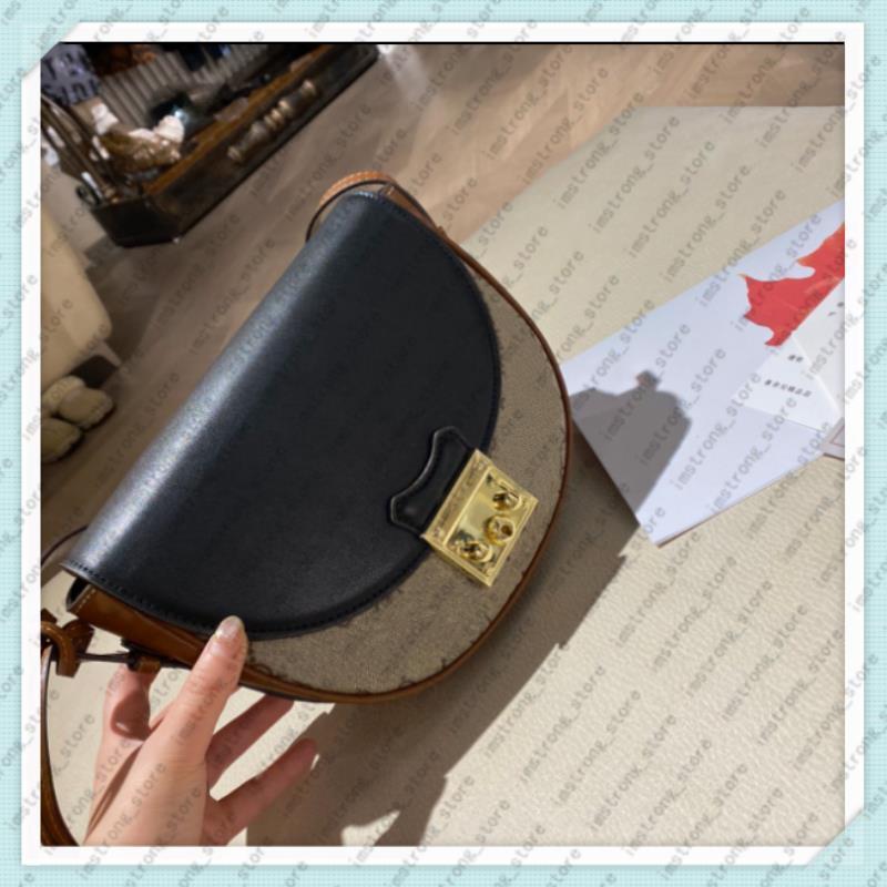 Bolsos 210120 2021 Moda Silla de montar Bolsa Bolsas Bolsas Saddle Classic Bags Hombro Para Mujer Lujos Diseñadores Bolso Crossbody Moneders Hmn