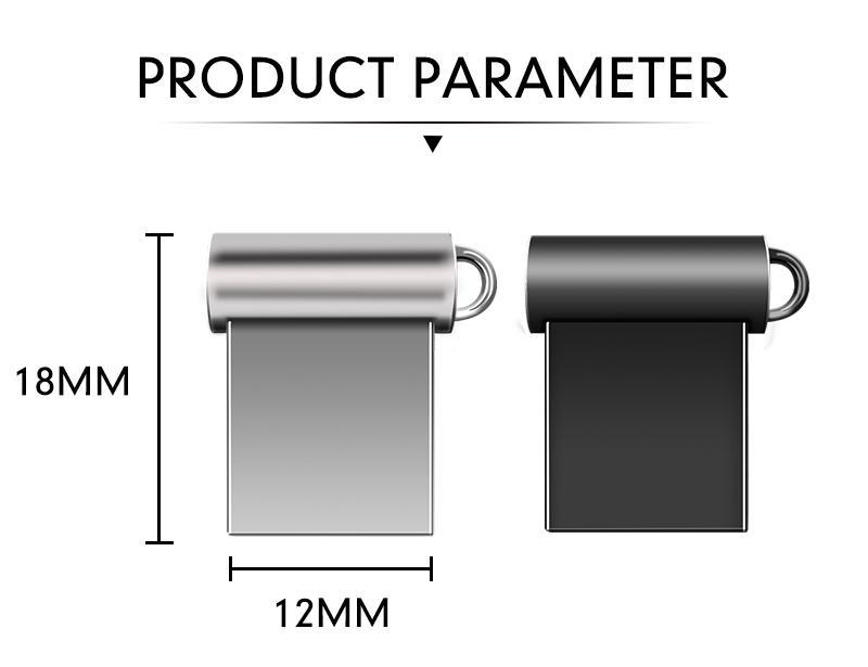 Wholesale metal Mini USB Flash Drives PenDrive Tiny Pen Drive UStick U Disk Memory Sticks 16g 32g 64g 8g