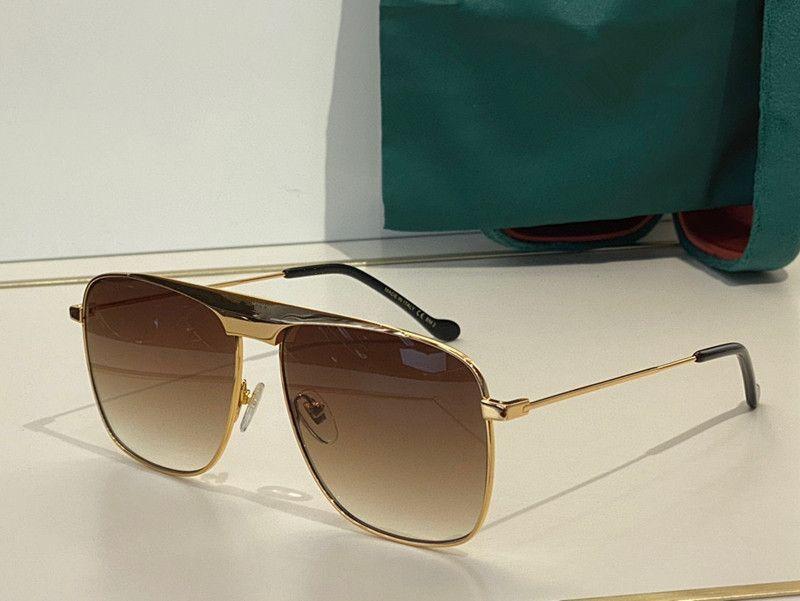 نظارات شمسية للرجال والنساء الصيف نمط المضادة للأشعة فوق البنفسجية 0909 الرجعية لوحة معدنية بيضاوي إطار كامل الأزياء النظارات مربع عشوائي