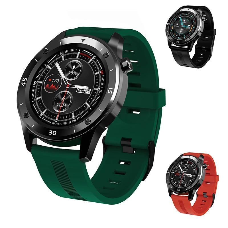 Smart Watch Мужчины Женщина Full Touch GPS-Шагомер Сердеч Удручатель Bluetooth Управление Фитнес-трекер SmartWatch для Android IOS