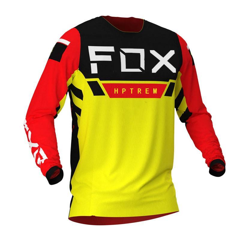 2021 мужские трикотажные трикотажные изделия HPTREM Cool и освежающие горы велосипедные рубашки MTB Offroad DH мотоцикл Джерси мотокросс спортивная одежда FXR X0503