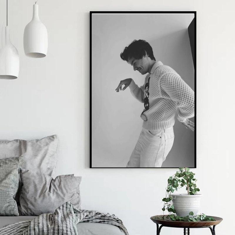 Harry Styles British Canvas Hd Prints Picture Singer And Actres Wall Artwork Painting Home Decoration Modular Poster Living Room Paintings