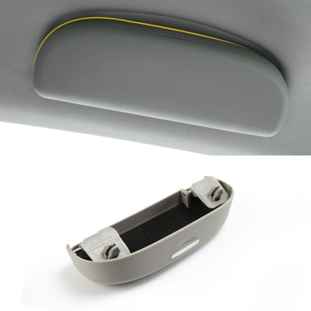 Auto Carty Lunettes Clip Clip Pincettes ABS Lunettes Étuis Sunglasses Titulaire Accessoires pour Volkswagen Atlas Teramont