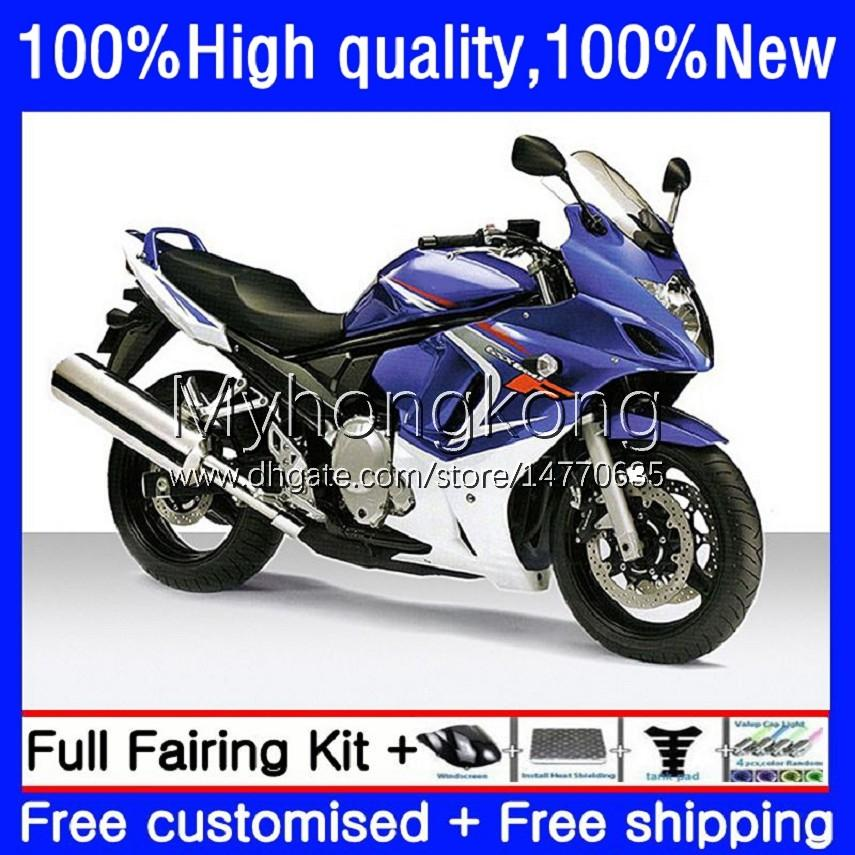 Moto Fairings för Suzuki Katana GSXF 650 GSXF-650 GSX 650F 08-14 29NO.0 GSX650F 08 09 10 11 12 13 14 GSX-650F GSXF650 2008 2009 2010 2011 2012 2013 2014 Bodys glansig svart