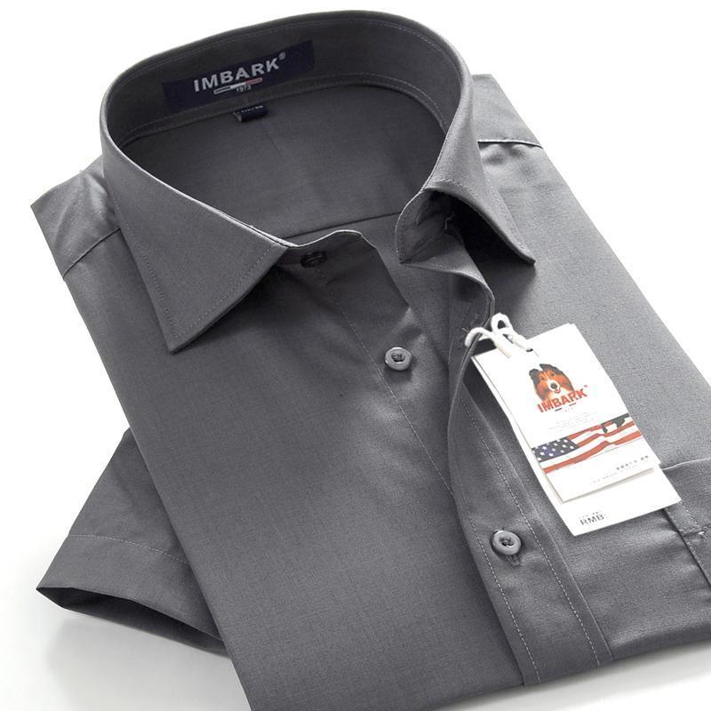 7xl 8XL 9XL 10XL 남성 클래식 브랜드 순수한 컬러 짧은 소매 셔츠 2021 여름 비즈니스 캐주얼 전문 셔츠