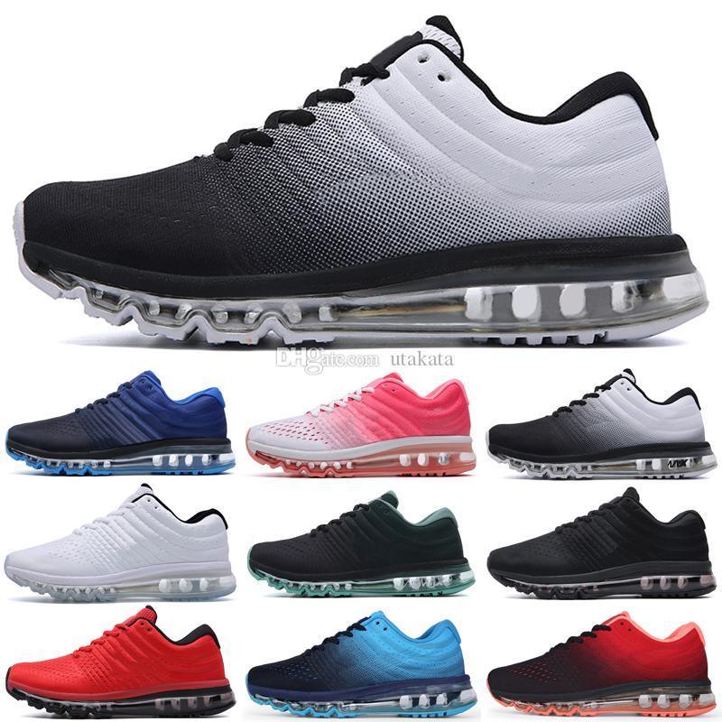 2017 جودة عالية شبكة متماسكة الرياضية الرجال النساء الاحذية الرياضية المدرب أحذية رياضية يورو 36-45