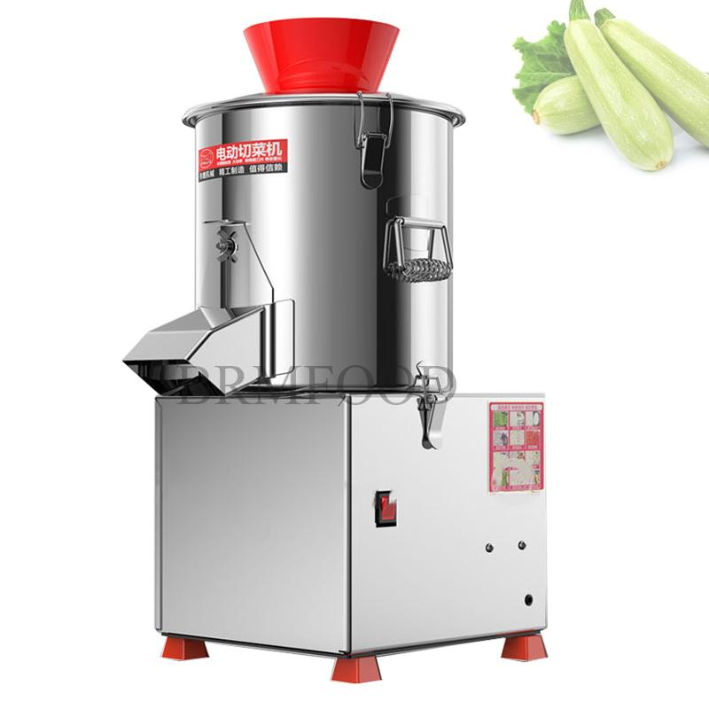 SY220 Automatic Commercial Food Particles Trapped Machine stainless steel Multi Function Electric Shredder Cut minced Vegetables maker 220V