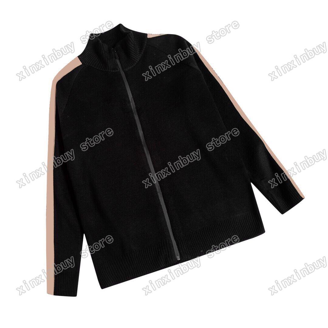 21SS Man Designer Denim Giacche Giacche Maglione Abbigliamento Eyes Jacquard Weave Mens Cappotti Cappotti Capispalla Capispalla con cappuccio Abbigliamento Cotton Grigio Blu