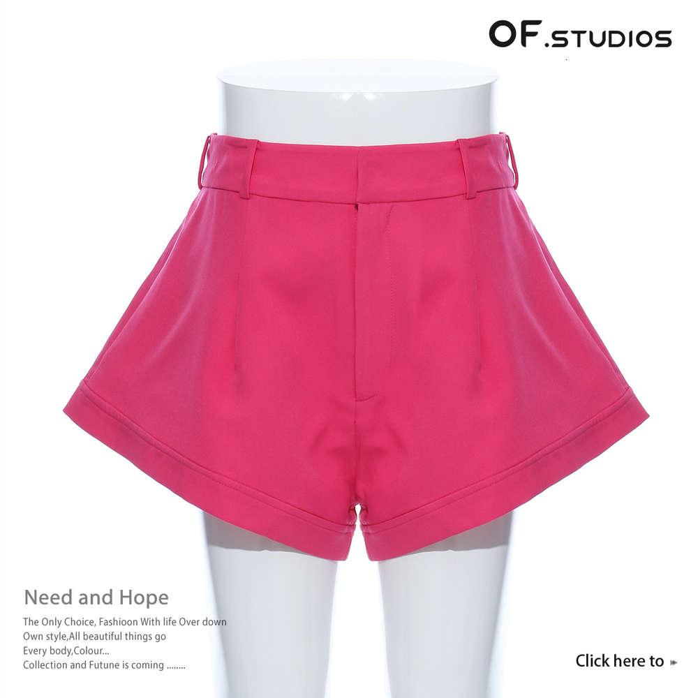 Summer Beach 20s / s Net Red Nicha Design A-Line Pantaloni caldi Sexy Vita alta Allentato Ultra Short 1314