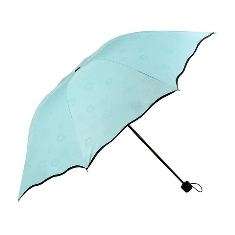 Umbrellas Umbrella Travel Parasol Folding Rain Windproof Anti-UV Sun/Rain