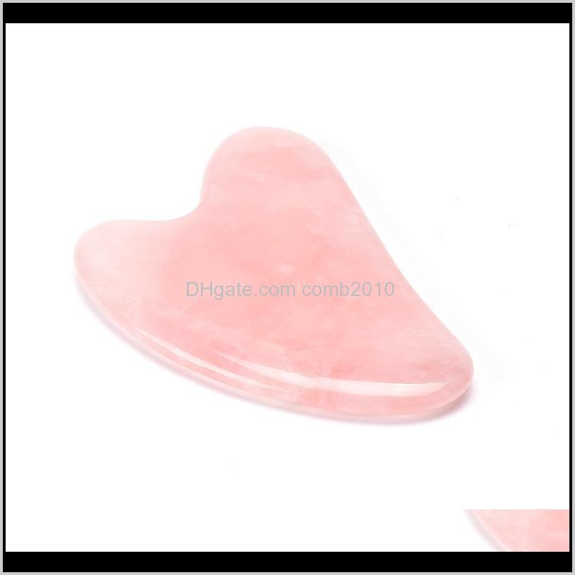 روز الكوارتز اليشم غا شى مجلس الوردي الحجر الطبيعي مكشطة الصينية قوه شا أدوات الوجه الرقبة الخلفي الجسم الوخز بالإبر العلاج الضغط BJ ofygz