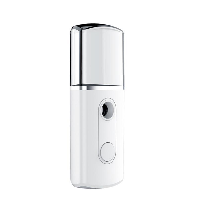 Portable USB Nano Facial Monsieur Steamer Mini Humidificateur Visage Air Humidificateur Pulvérisateur Pulvérisateur Hydratant Effacement 20ml Triangle KKB7165