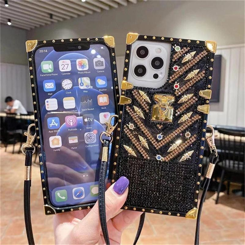 Fashion Cell Phone Cases for Iphone 12 Mini 11 Pro X XS XR Max 6 S 7 8 Plus Luxury Hard Cellphone Cover