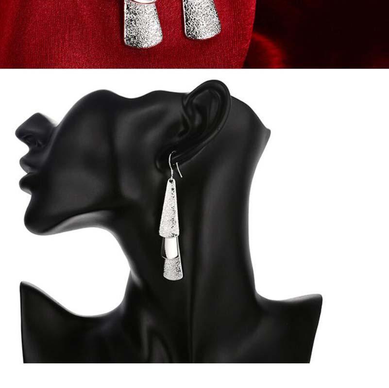 Real 925 plata esterlina vintage palo largo tassel cuelga pendientes para mujeres 2021 regalo de joyería