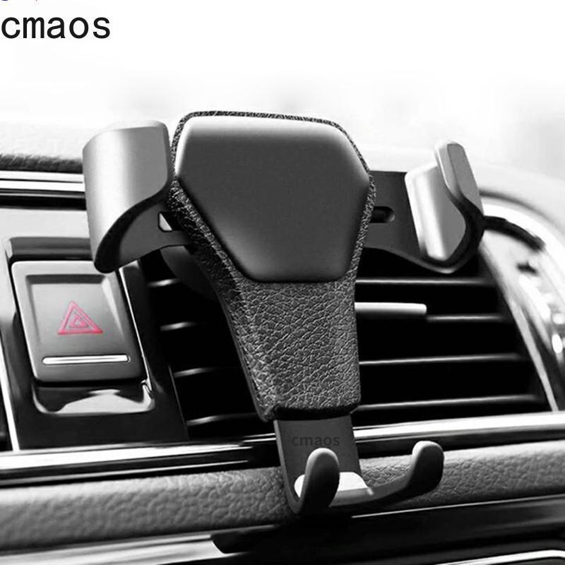 Cep Telefonu Montaj Tutucular Yerçekimi Araba Montaj Mobil Tutucu için Hava Firar Klip Standı GPS Desteği 11 XS X XR 7 Huawei